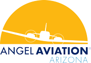 Angel Aviation Flight School Logo